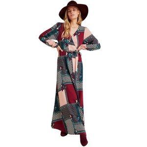 NWT Porridge Clothing Anthro Virginia Maxi Dress
